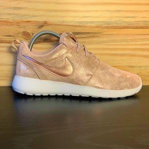 New Nike Roshe Rose Gold Premium